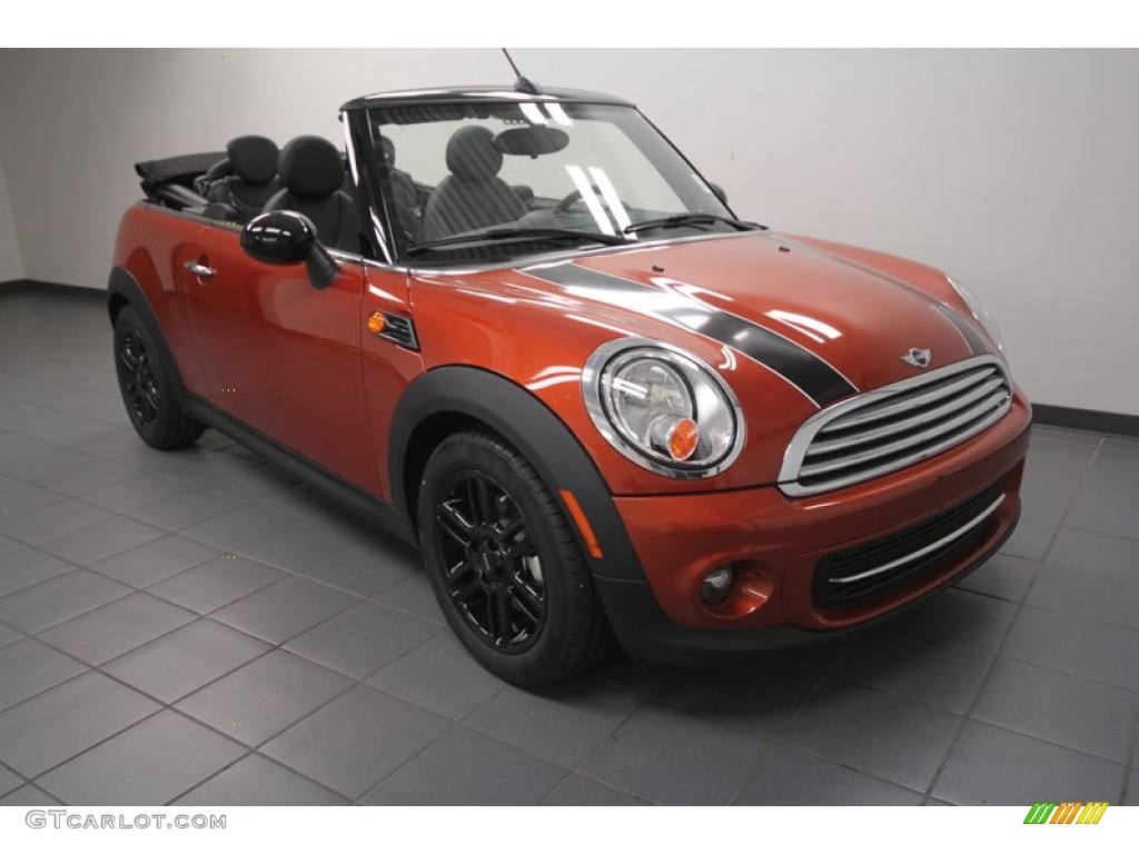 2013 spice orange metallic mini cooper convertible 73180504 car color galleries. Black Bedroom Furniture Sets. Home Design Ideas