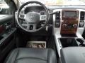 2010 Brilliant Black Crystal Pearl Dodge Ram 3500 Laramie Mega Cab 4x4 Dually  photo #23