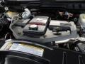 2010 Brilliant Black Crystal Pearl Dodge Ram 3500 Laramie Mega Cab 4x4 Dually  photo #32