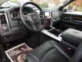 2010 Brilliant Black Crystal Pearl Dodge Ram 3500 Laramie Mega Cab 4x4 Dually  photo #33