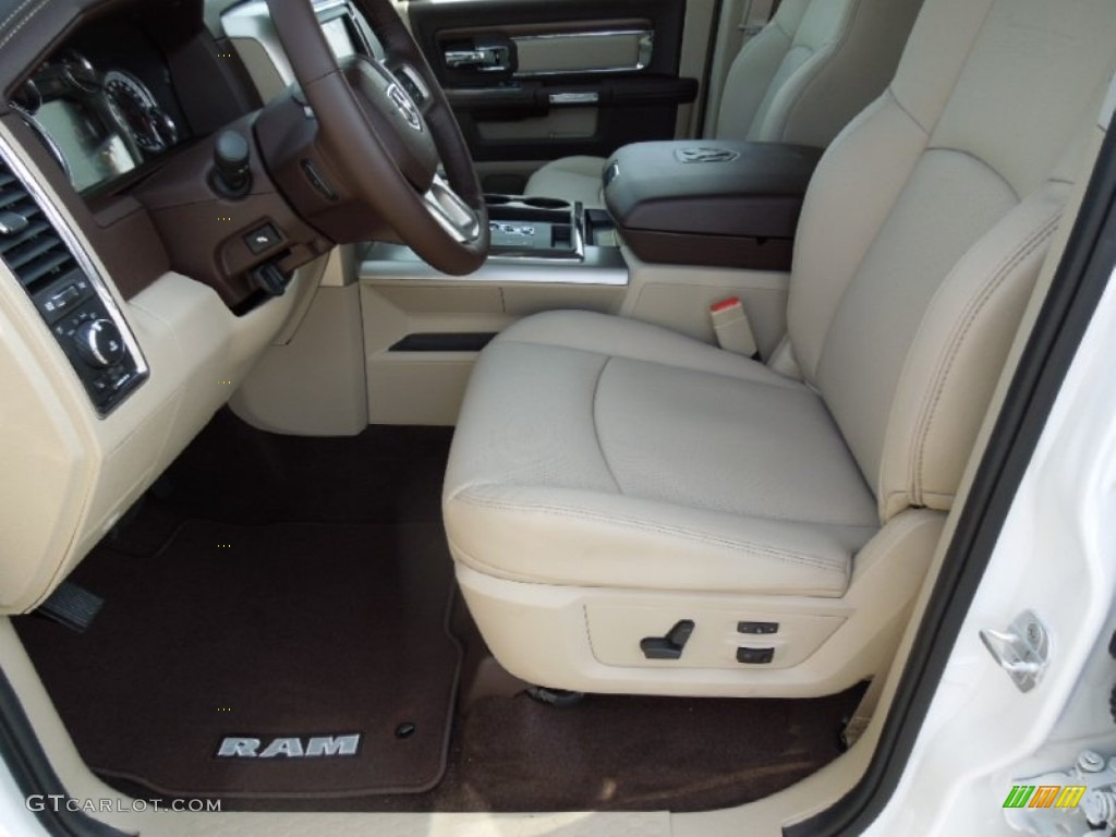 canyon brown light frost beige interior 2013 ram 1500 laramie crew cab photo 73249809. Black Bedroom Furniture Sets. Home Design Ideas