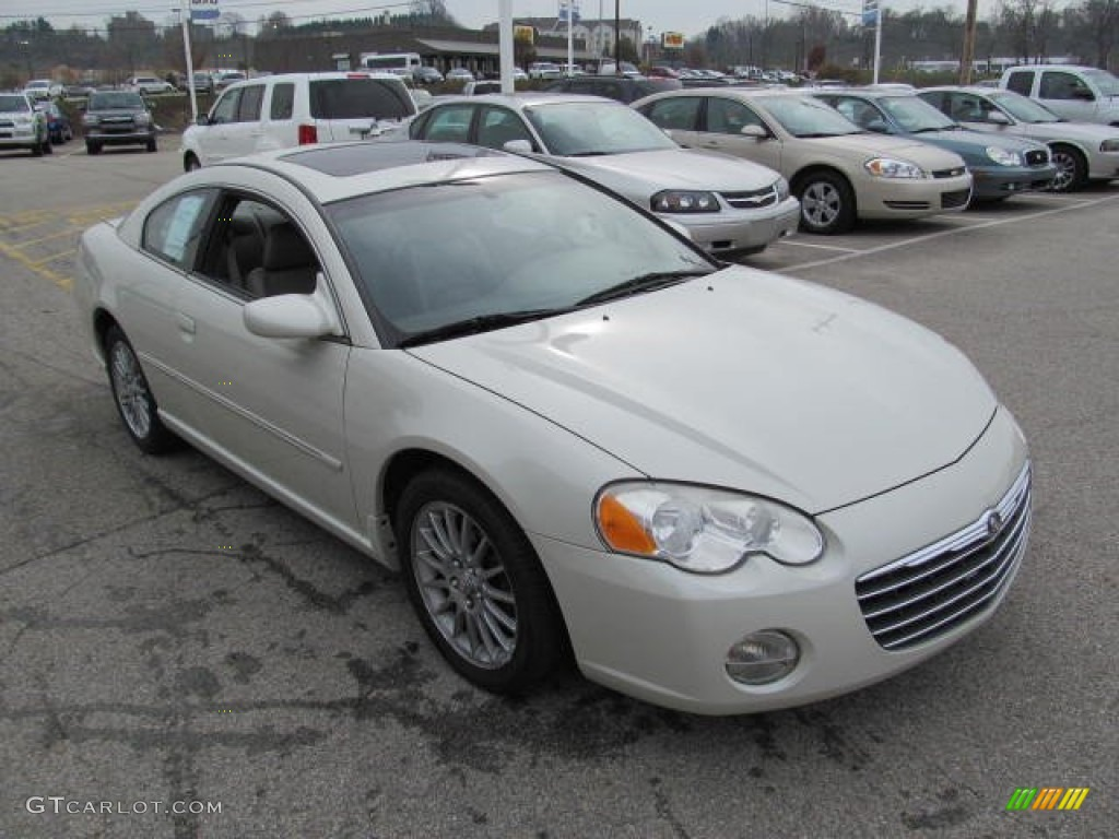 satin white pearl 2004 chrysler sebring limited coupe. Black Bedroom Furniture Sets. Home Design Ideas
