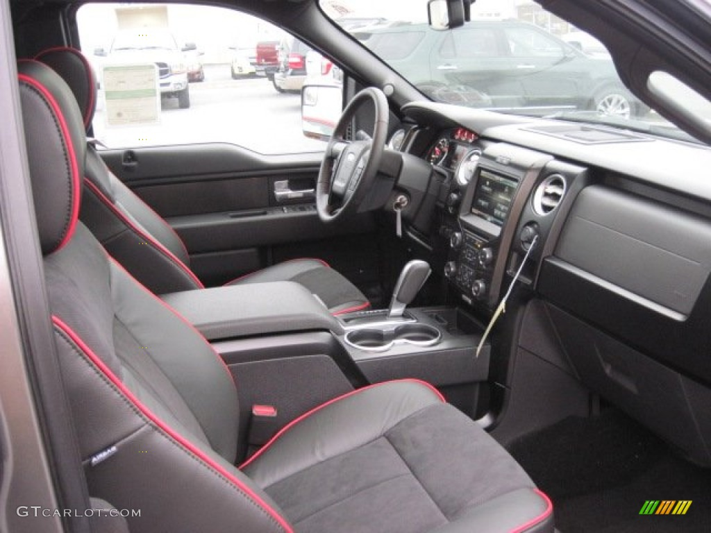 fx sport appearance black red interior 2013 ford f150 fx4. Black Bedroom Furniture Sets. Home Design Ideas