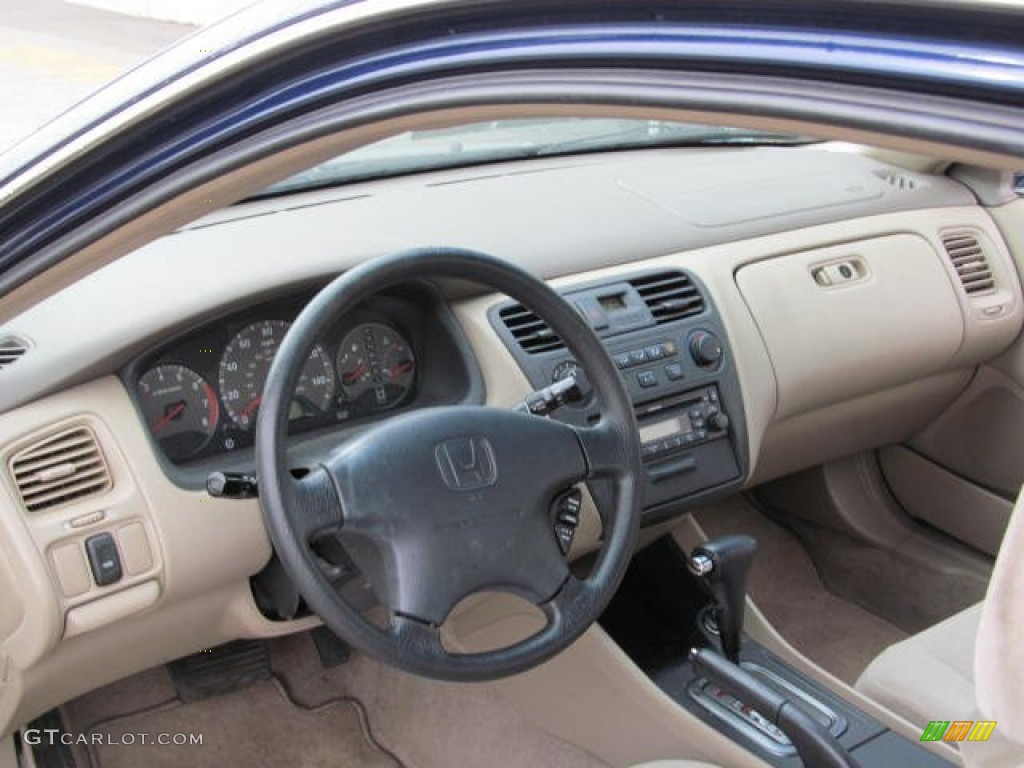 Ivory Interior 2001 Honda Accord Lx Coupe Photo 73253712