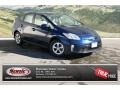 Nautical Blue Metallic 2012 Toyota Prius 3rd Gen Gallery