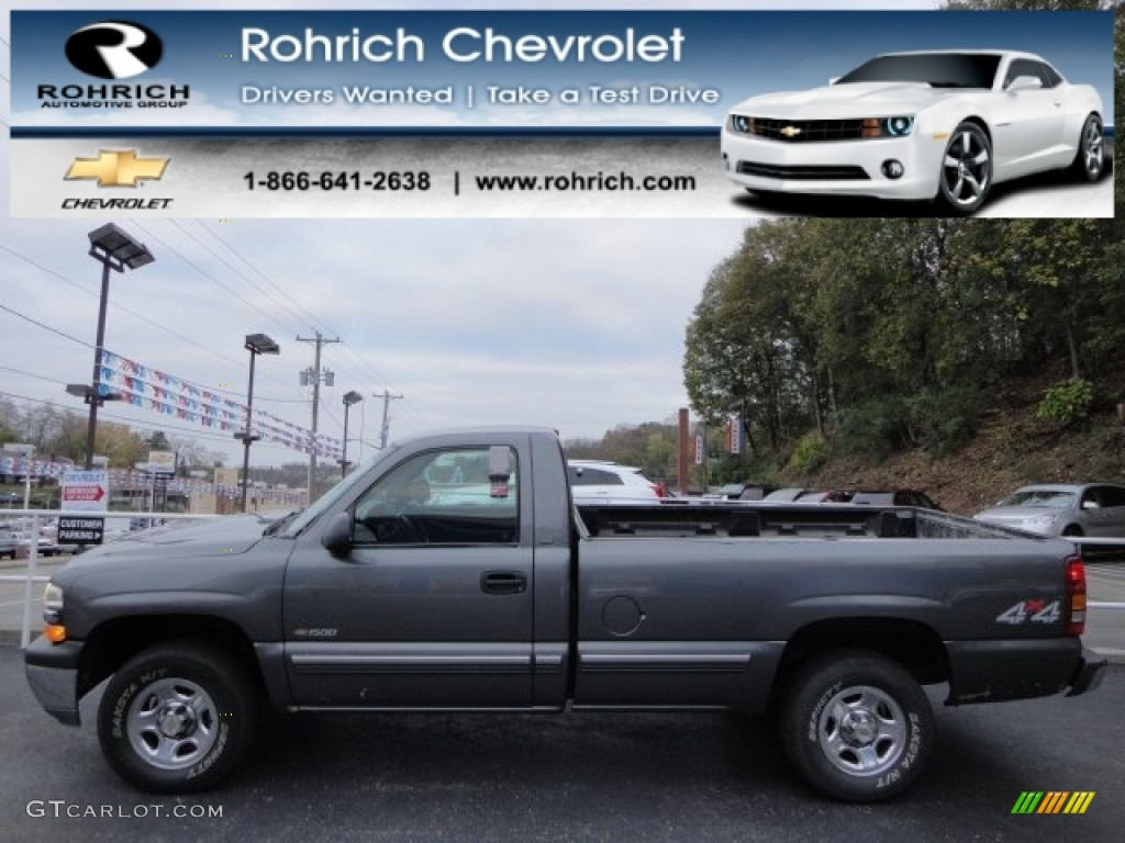 Charcoal Gray Metallic Chevrolet Silverado 1500
