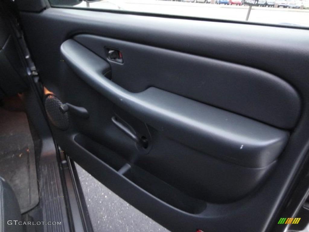 2000 Silverado 1500 Regular Cab 4x4 - Charcoal Gray Metallic / Graphite photo #13
