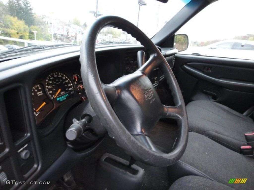 2000 Silverado 1500 Regular Cab 4x4 - Charcoal Gray Metallic / Graphite photo #18