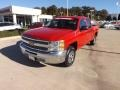 2012 Victory Red Chevrolet Silverado 1500 LT Crew Cab  photo #1
