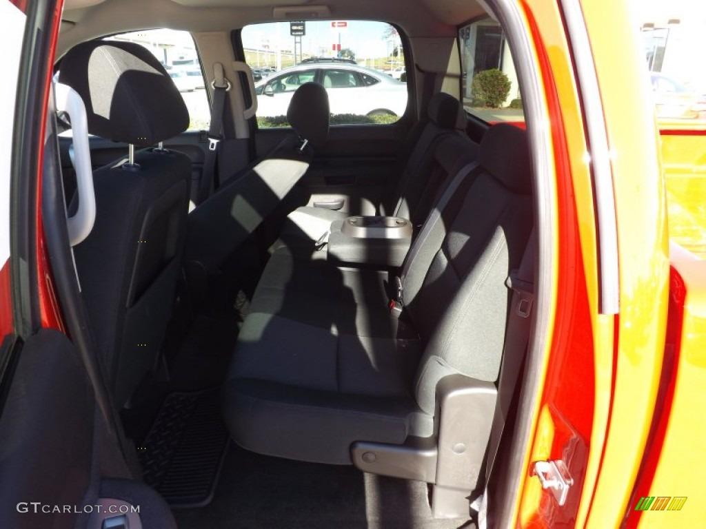 2012 Silverado 1500 LT Crew Cab - Victory Red / Ebony photo #13