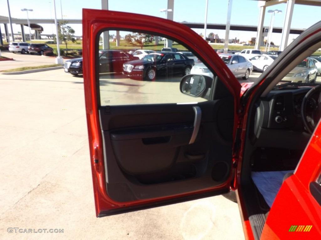 2012 Silverado 1500 LT Crew Cab - Victory Red / Ebony photo #14