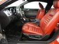Red Leather Interior Photo for 2005 Ford Mustang #73264131