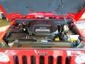 2012 Flame Red Jeep Wrangler Sahara 4x4  photo #18