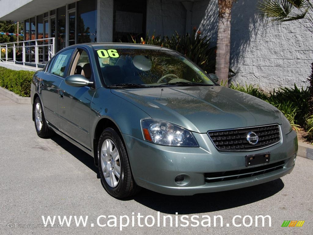 2006 mystic emerald metallic nissan altima 25 s special edition mystic emerald metallic nissan altima vanachro Image collections