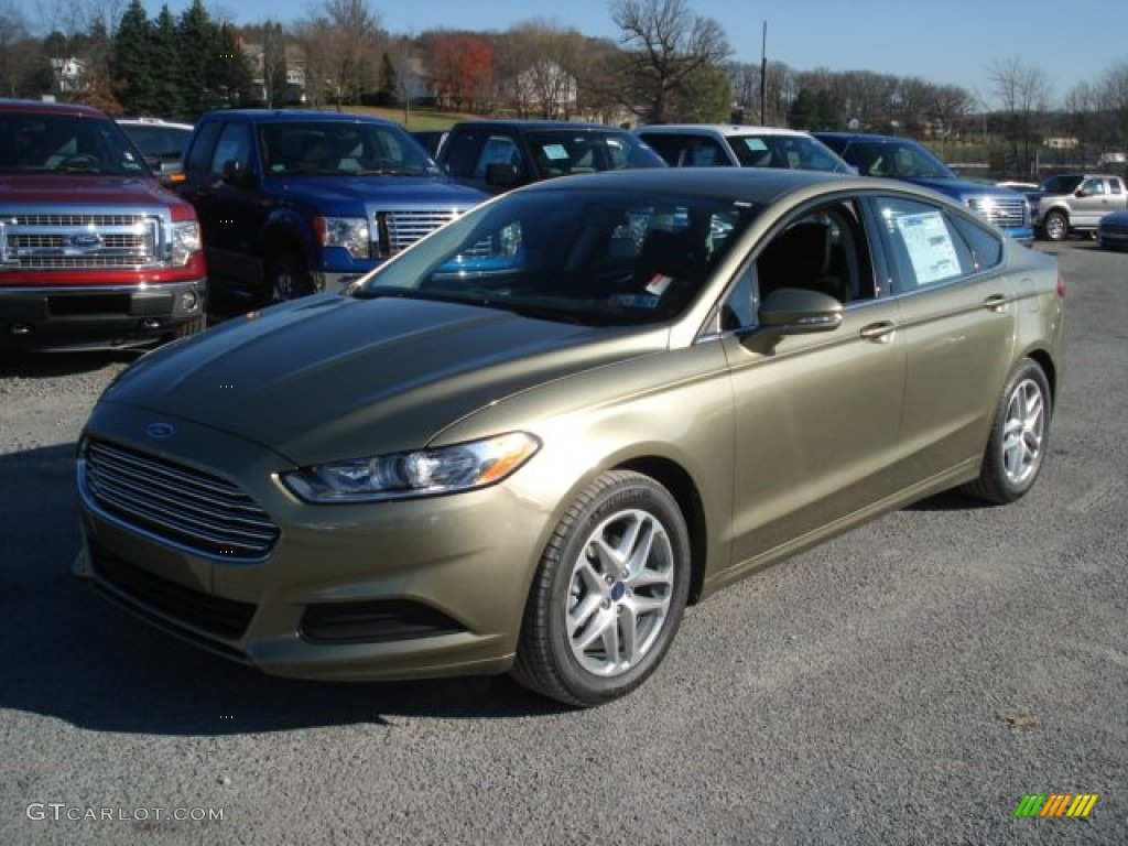 Ginger Ale Metallic 2013 Ford Fusion Se Exterior Photo 73276230
