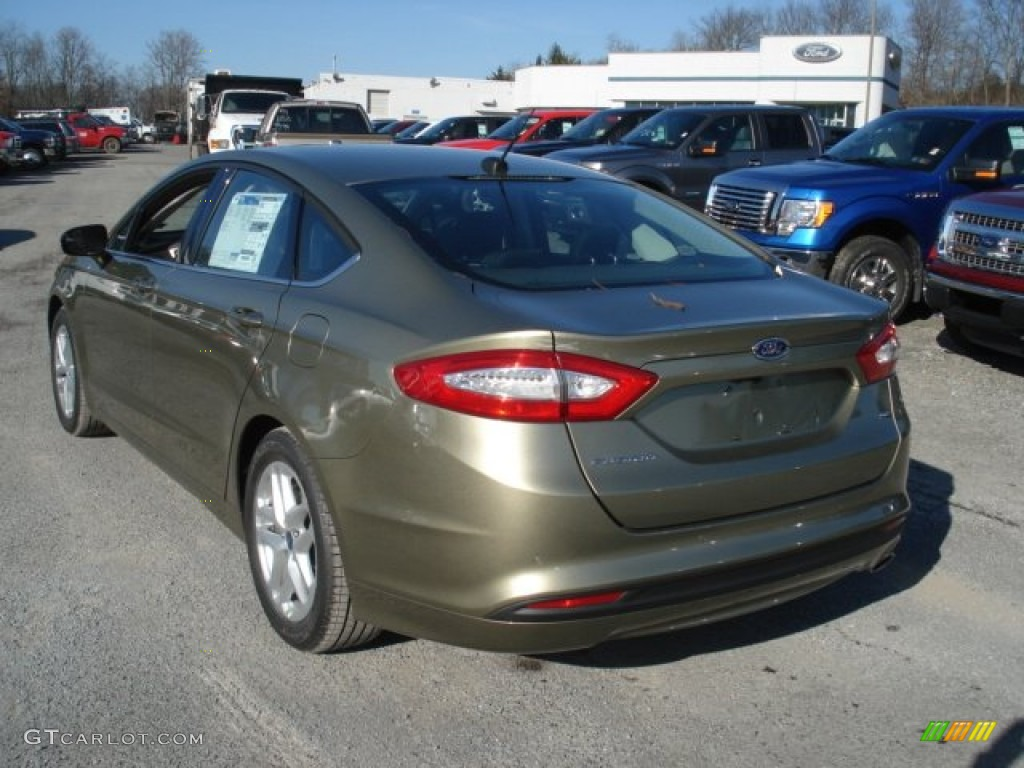 Ginger Ale Metallic 2013 Ford Fusion Se Exterior Photo 73276263