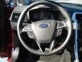 Charcoal Black Steering Wheel Photo for 2013 Ford Fusion #73276797