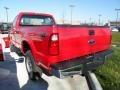 2012 Vermillion Red Ford F250 Super Duty XL Regular Cab 4x4 Plow Truck  photo #3