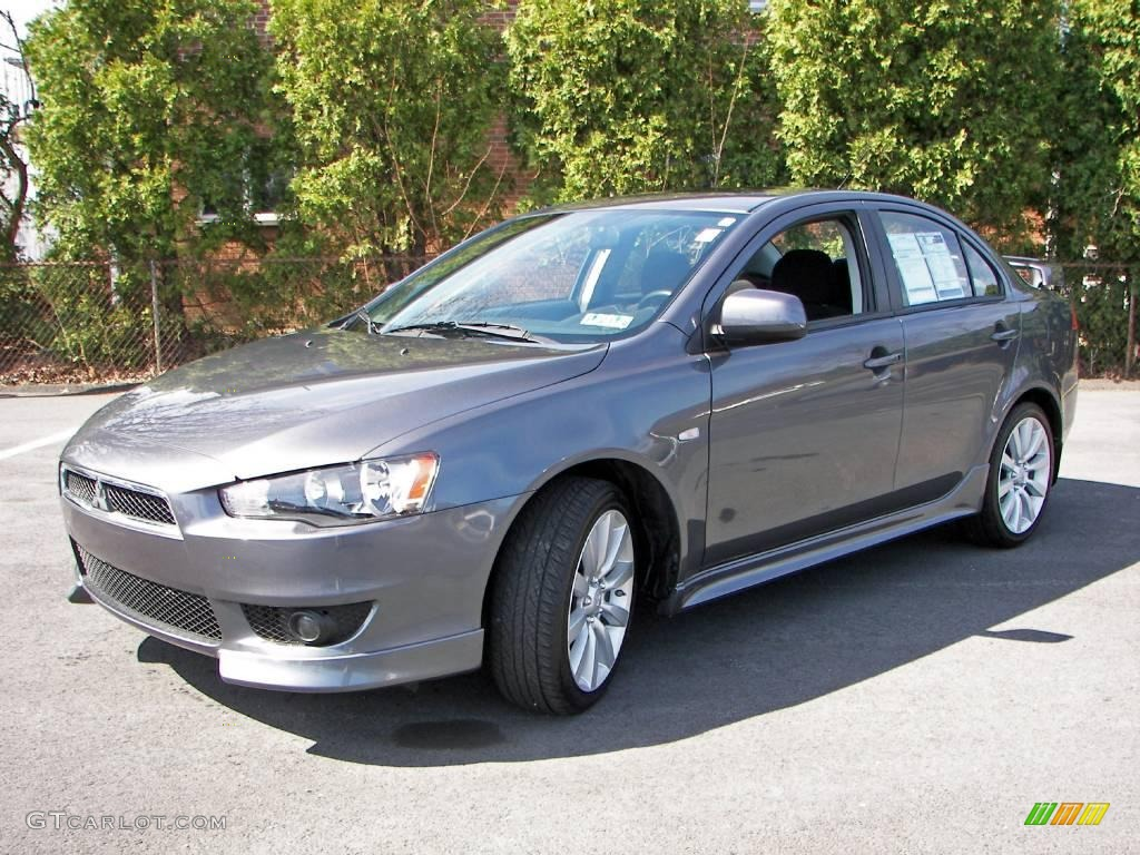 2008 graphite gray pearl mitsubishi lancer gts 7280875. Black Bedroom Furniture Sets. Home Design Ideas