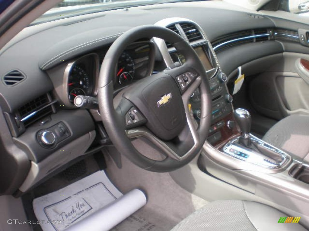 Jet Black Titanium Interior 2013 Chevrolet Malibu Lt Photo
