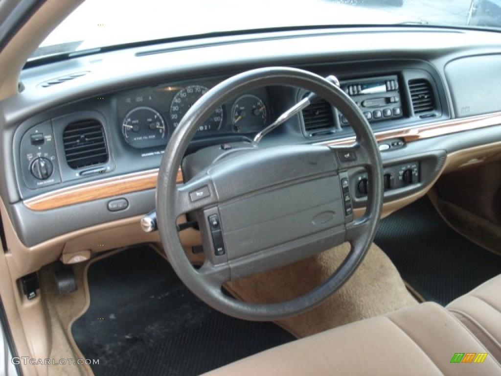 Tan Interior 1995 Ford Crown Victoria Standard Crown Victoria Model Photo 73299666