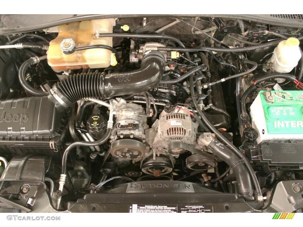 2004 jeep liberty sport 4x4 3 7 liter sohc 12v powertech v6 engine photo 73302393. Black Bedroom Furniture Sets. Home Design Ideas