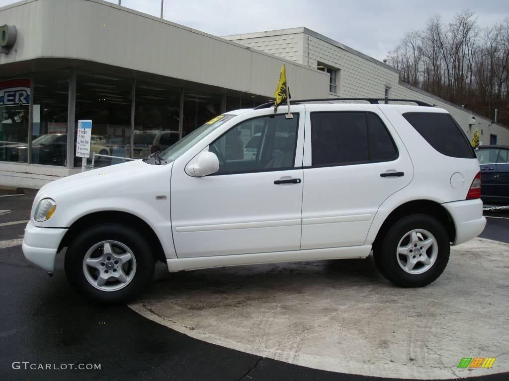 1999 polar white mercedes benz ml 320 4matic 7270355 for Mercedes benz 1999 ml320