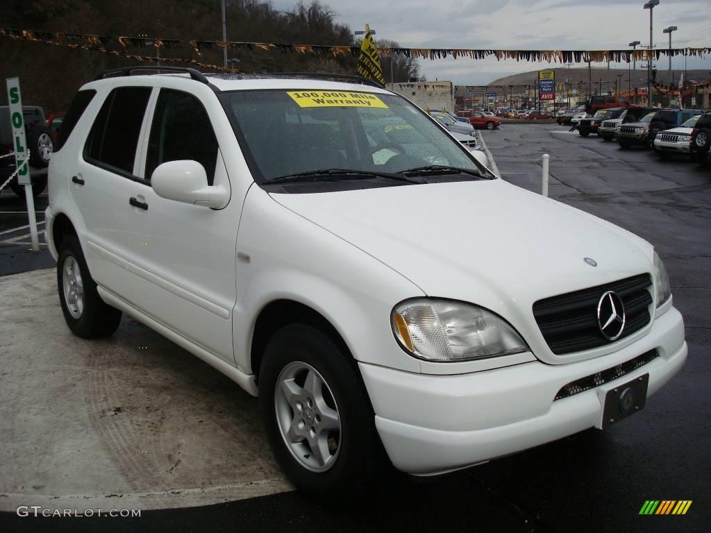 1999 polar white mercedes benz ml 320 4matic 7270355 for Mercedes benz polar white paint