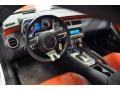 Inferno Orange/Black 2011 Chevrolet Camaro Interiors