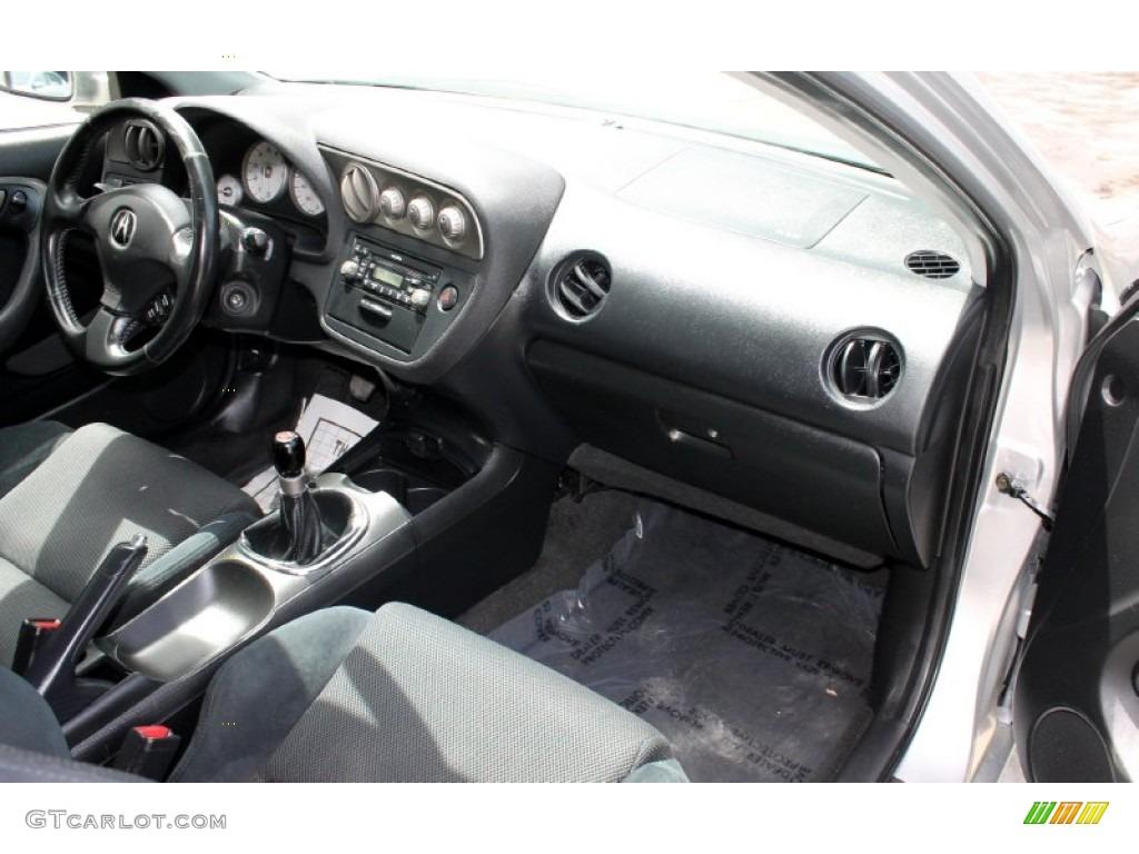2006 Acura RSX Sports Coupe Ebony Dashboard Photo #73316304 | GTCarLot.com