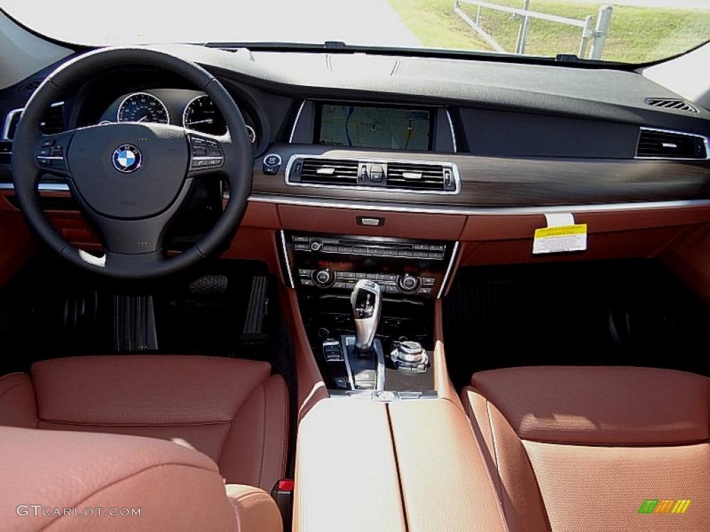 2013 Bmw 5 Series 535i Gran Turismo Cinnamon Brown Dashboard Photo 73317489