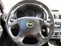 2002 Subaru Impreza Black Interior Steering Wheel Photo