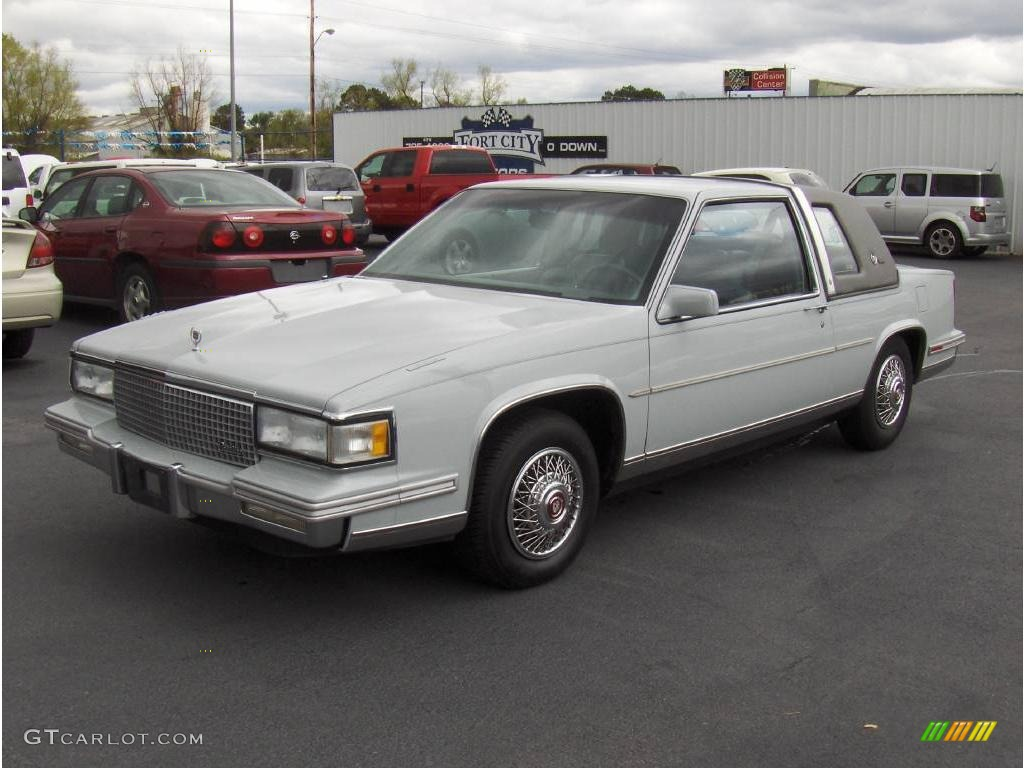 1988 light pearl gray cadillac deville coupe 7280689. Cars Review. Best American Auto & Cars Review