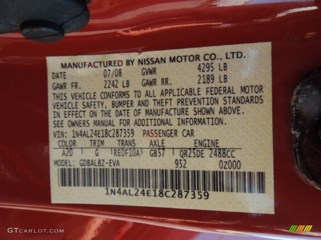 Nissan Color Codes Wiring Diagram