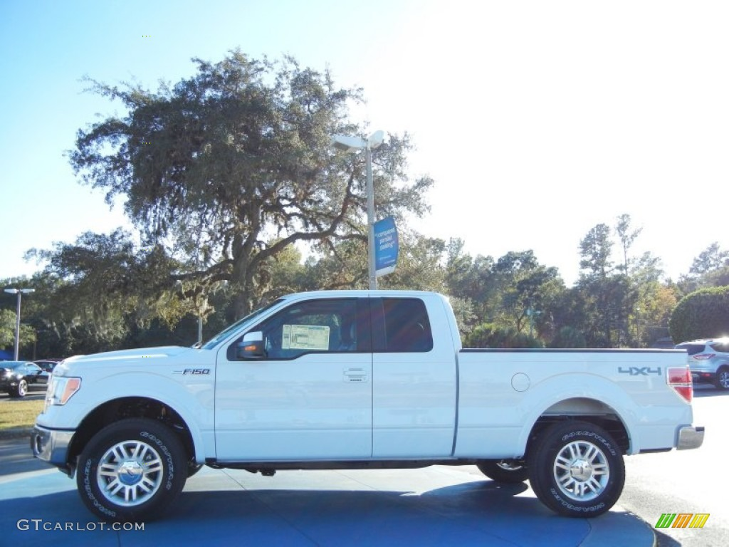 2013 Oxford White Ford F150 Lariat SuperCab 4x4 #73347658 ...