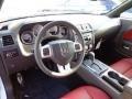 Radar Red/Dark Slate Gray Prime Interior Photo for 2013 Dodge Challenger #73350215