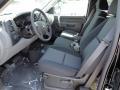 2011 Black Chevrolet Silverado 1500 LS Extended Cab 4x4  photo #10