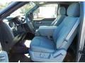 2013 F150 STX Regular Cab 4x4 Steel Gray Interior
