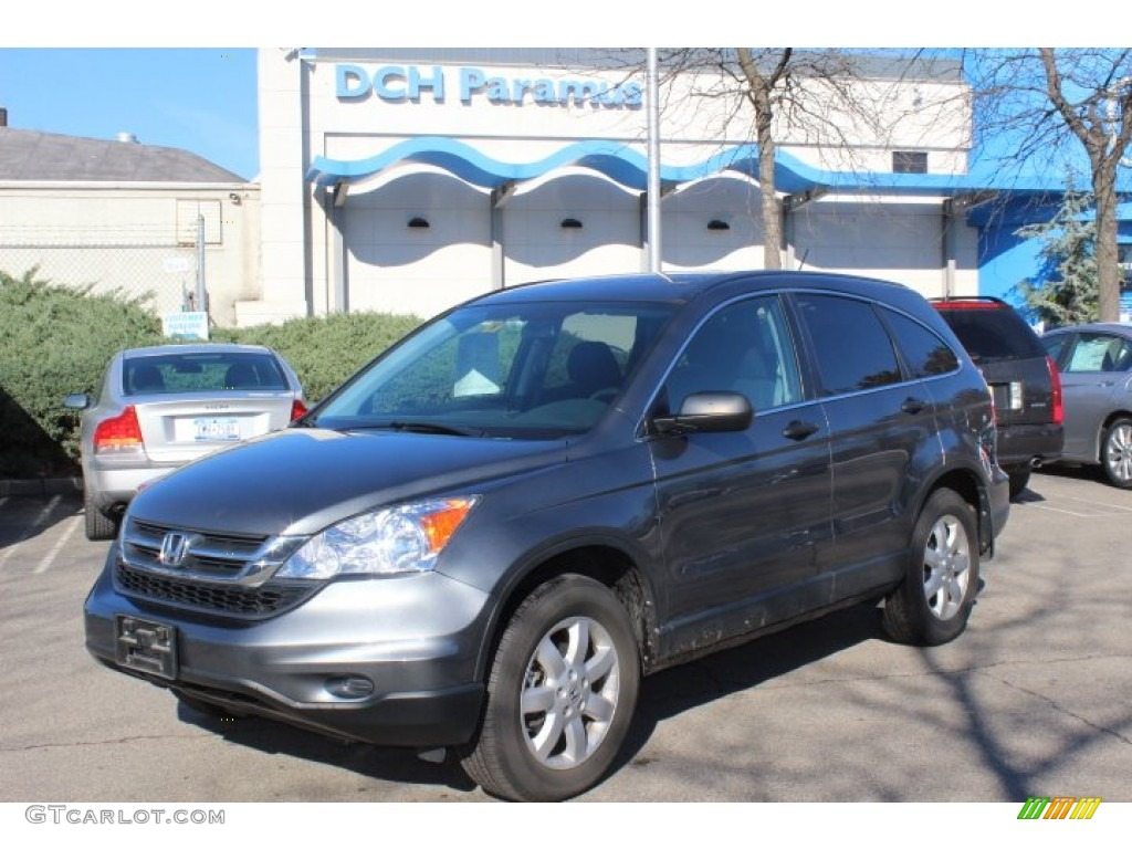 2011 CR-V SE 4WD - Polished Metal Metallic / Gray photo #1