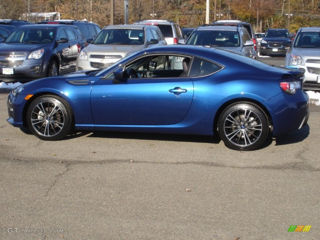 2013 BRZ Limited - Galaxy Blue Silica / Black Leather/Alcantara photo #10
