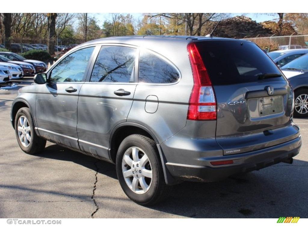 2011 CR-V SE 4WD - Polished Metal Metallic / Gray photo #7