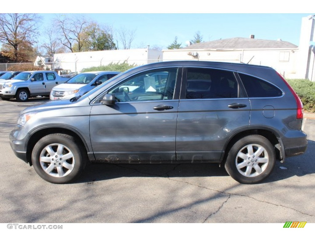 2011 CR-V SE 4WD - Polished Metal Metallic / Gray photo #8