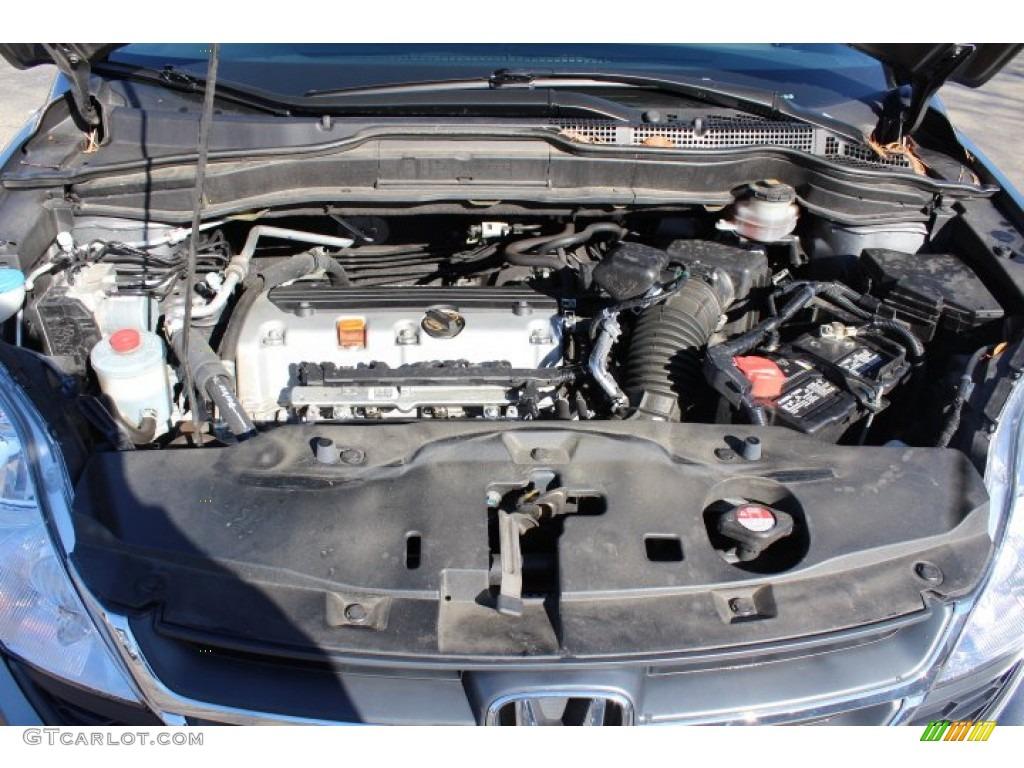 2011 CR-V SE 4WD - Polished Metal Metallic / Gray photo #23