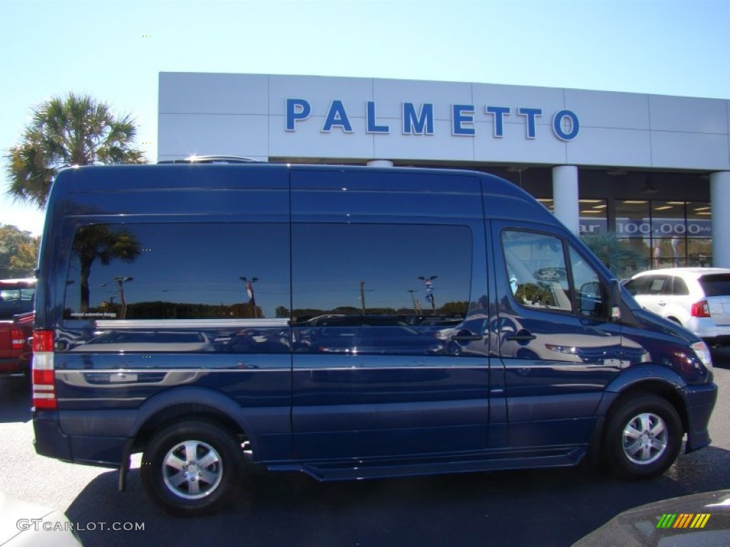 2012 atlantis blue mercedes benz sprinter 2500 high roof for Mercedes benz sprinter conversion