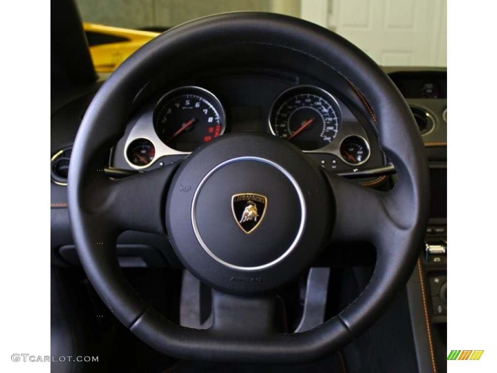 2010 Lamborghini Gallardo LP560-4 Spyder Steering Wheel ...