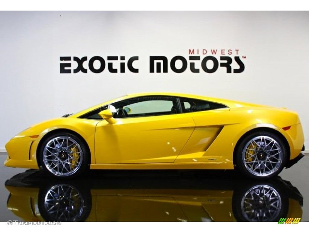 2009 Giallo Midas Yellow Lamborghini Gallardo Lp560 4 Coupe