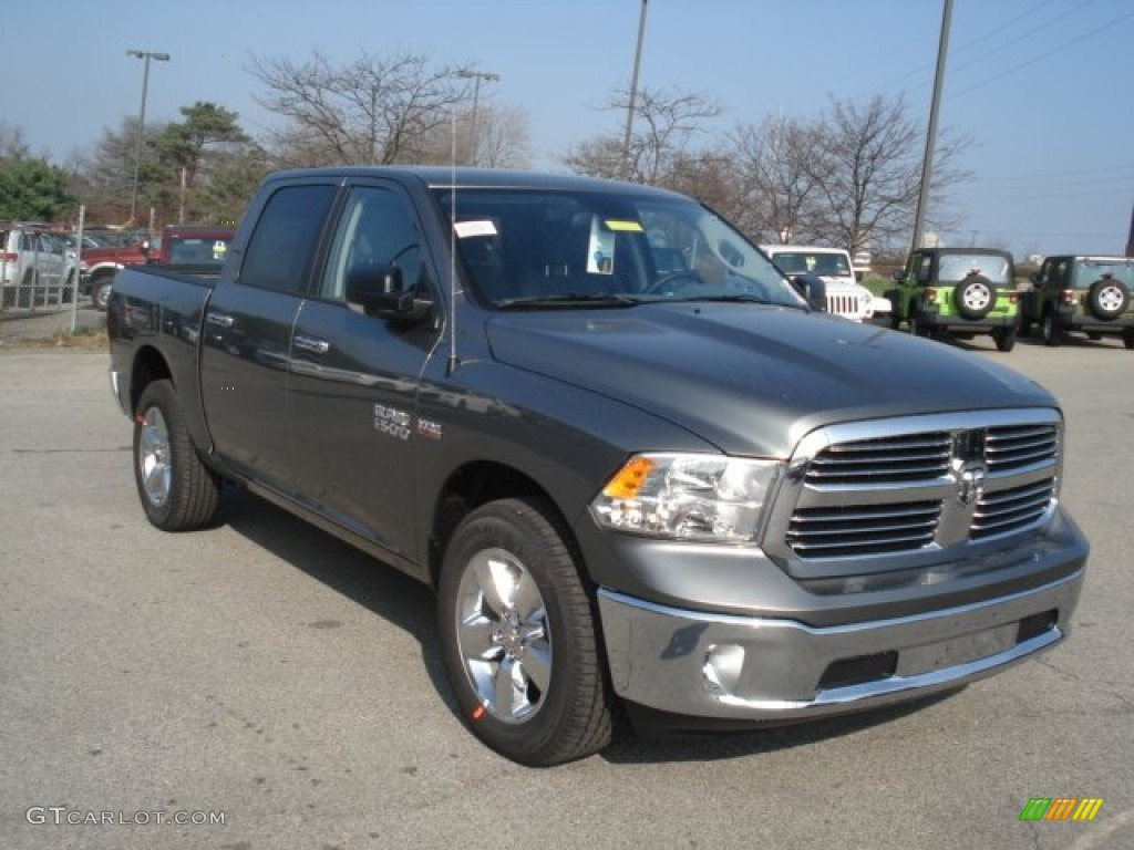 2013 mineral gray metallic ram 1500 big horn crew cab 4x4 73347672 photo 4. Black Bedroom Furniture Sets. Home Design Ideas