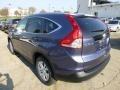 2013 Twilight Blue Metallic Honda CR-V EX-L AWD  photo #2