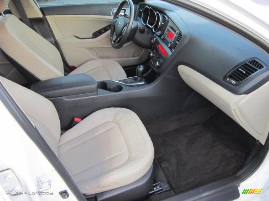 Beige Interior 2011 Kia Optima Ex Turbo Photo 73412602