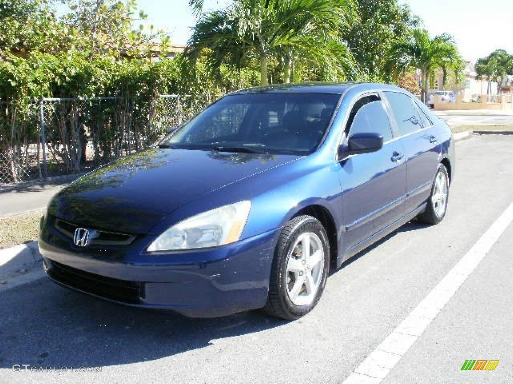 2003 eternal blue pearl honda accord ex l sedan 73408679 car color galleries. Black Bedroom Furniture Sets. Home Design Ideas